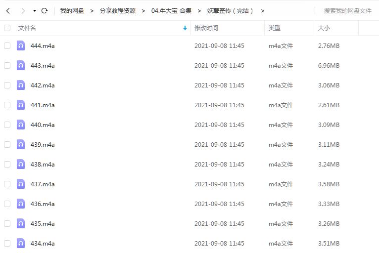 《妖孽歪传(完结)》 牛大宝 百度云 -1
