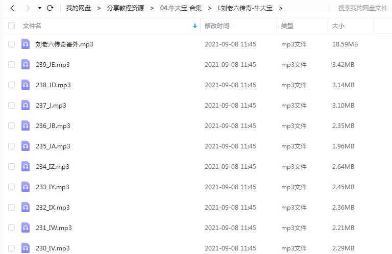 《刘老六传奇》 牛大宝 百度云 -1
